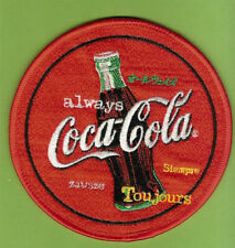 #D260.  COKE CLOTH PATCH - COCA COLA