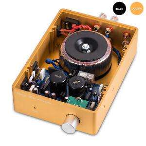 HiFi Stereo Power Amplifier 2.0 Channel Home Desktop Audio Amp 130W
