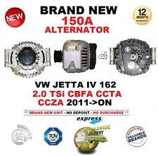 FOR VW JETTA IV 162 2.0 TSi CBFA CCTA CCZA 2011-> NEW 150A ALTERNATOR OE QUALITY