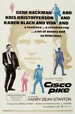 CISCO PIKE Movie POSTER 27x40 Kris Kristofferson Karen Black Gene Hackman Harry