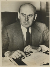 John J. McCloy  Vintage silver print,John J. McCloy, né le 31 mars 1895 à Phil