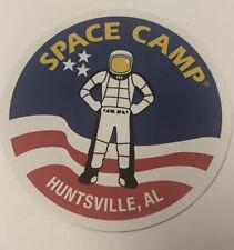 NASA Space Camp Huntsville Alabama Sticker USA Astronaut (3'')