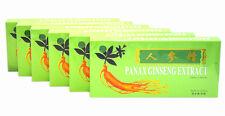 6 Boxes Panax Ginseng Extract Oral Liquid 4500mg Improves Stamina 6x10 Vials