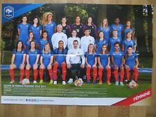 Poster von der Damen Fussball Nationalmannschaft *FRANKREICH* Din A2 2016/2017