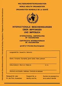 2 x Impfpass Schutzhülle,Dokumentenhülle für Rezept,intern.Impfausweis,Sparbuch