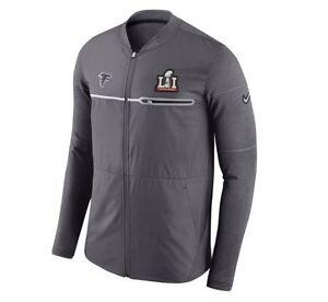 Nike Atlanta Falcons Sz 2XL Super Bowl LI 51 Hybrid Mens Jacket AA7222 021