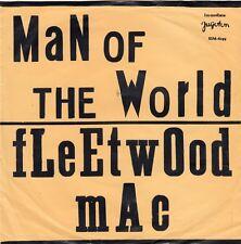 """FLEETWOOD MAC MAN OF THE WORLD P. GREEN UNIQUE MISPRINT RECORD YUGOSLAVIA 7"""" PS"""
