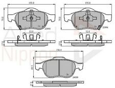 TOYOTA AVENSIS 1.6 1.8 1.9 2.0 2.4 FRONT AXLE BRAKE PADS SET NEW