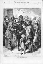 1870 FRANCO GERMAN WAR - French Refugees in London ENGLISH POLICEMAN (153)
