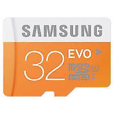 Samsung 32GB MicroSD SDHC Micro SD EVO Memory Card 48MB/s-
