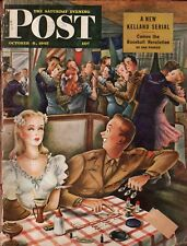 1945 Saturday Evening Post October 6 - Parker Games; Hunt for Nazi Oil Secrets