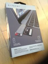 New Satechi type C USB card reader space grey unopened