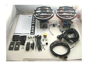 LAND ROVER LR3 / DISCOVERY 3 ORIGINAL DRIVING LAMP KIT & ALL ELECTRICS XQB500080