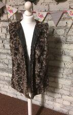 Next Faux Fur Waistcoat BNWT