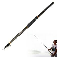 3.6M Superhard Telescopic Sea Fishing Spinning Rod Casting Pole Carbon Fiber FT