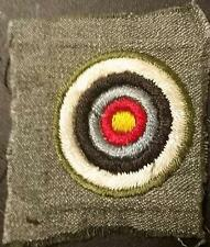 1928-1933 Girl Scout Badge ARCHER Archery - GREY GREEN SQUARE SUPER RARE!