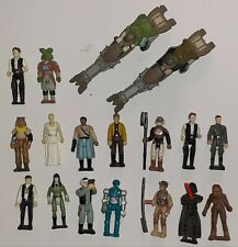 Lot Figurines Star Wars Micromachines Action Fleet Vintage SW Speeder Bike A-7