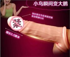 Silicone Penis Enlargement Rings Penis Extender Penis Sleeve Sex Toys For Men