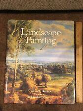 Landscape Painting by Konstantin Bazarov (1981, Hardcover w/ Dust Jacket) ~ Good