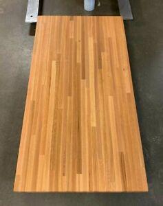 "Forever Joint Red Oak Butcher Block Countertop - 1.5"" x 26"" x Custom Sizes"