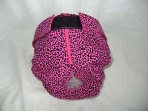 Female Dog Puppy Pet Diaper Washable Pants Sanitary Underwear Pink Animal XXS