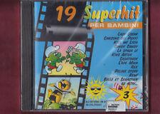 19 SUPERHIT PER BAMBINI VOL.3 cover version CD NUOVO SIGILLATO