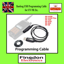 Baofeng USB Programming Cable for UV-9R Plus A58 N9 Radio UK Seller