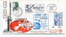 1984 Lancemente Ariane L 09 Kourou Conseil Europe ESA-CNES Guyane Strasbourg SAT