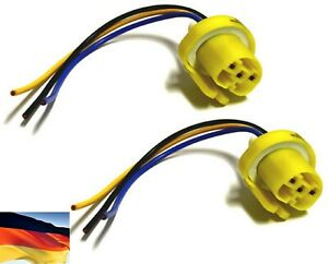 Flosser Wire Harness 9444 Pigtail Female 9004 HB1 Head Light Bulb Connector Plug