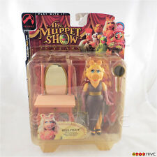 Muppets Miss Piggy series 1 muppet show action figure short hair worn packaging