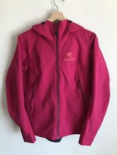 Arcteryx Women's Hooded Jacket Adam ZIP Up Size Medium Pink