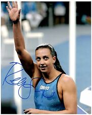 REBECCA SONI Signed Autographed TEAM U.S.A. Olympic Swimming 8x10 Pic. D