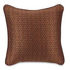 Croscill Euro Sham, Galleria Red European Pillow Sham, Red, Cinnamon Brown, New
