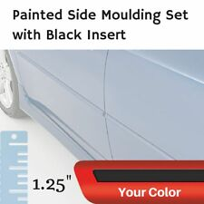 Painted w/Black Insert Body Side Moulding for Volvo V40 Cross Country Hatchback