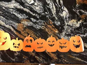 Pumpkin Garland Pumpkin Decorations Cake Plate Wrap~Martha Stewart