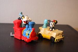 """MICKEY & MINNIE'S RUNAWAY RAILWAY! """"MINNIE"""" # 3 McDonald's Toy (2020) Goofy"""