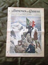 La Domenica del Corriere 8 Settembre 1901 Duca Abruzzi - Festa della Rua - Siam