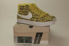 b44eb1c4 Nike SB Blazer Neckface Chronicles 2 Size 9 Yellow 603639 710