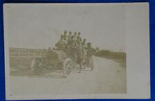 AUTOMOBILE  MILITARE ufficiali Regio Esercito viaggiata 1911  f/p #16601