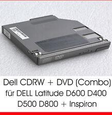 CDRW DVD combo para Dell Latitude d600 d400 d500 d610 d800 d810 Inspiron 8500 d11