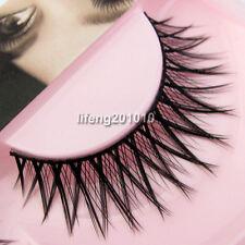 5 Pairs Makeup Crisscross Natural Soft Long False Eyelashes Black Eye Lashes M40