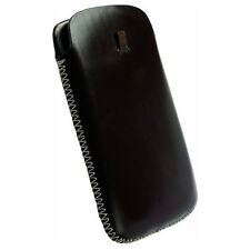KRUSELL DONSO LEATHER POUCH CASE HTC DESIRE BROWN
