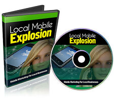 Mobile Marketing For Local Businesses Video Course on CD