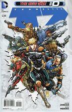 Team 7 #0 Comic Book 2012 New 52 - DC