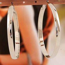fashion jewelry hoop earrings gold filled big large women earings wholesale 60mm