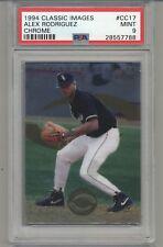 1994 Classic Images Chrome #CC17 Alex Rodriguez Rookie Minor League PSA 9 MINT