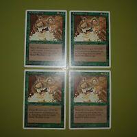 Rabid Wombat x4 - Chronicles - Magic the Gathering MTG 4x Playset