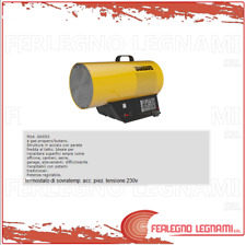 GENERATORI DI ARIA CALDA A GAS PROPANO/BUTANO MOD. GAS53 ART. 56982