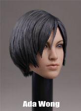 1/6 Ada Wong Head Sculpt For Resident Evil Hot Toys Female Phicen Body