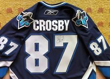 Sidney Crosby Signed Autograph Rimouski Oceanic Jerse - Penguins - NHL PROOF